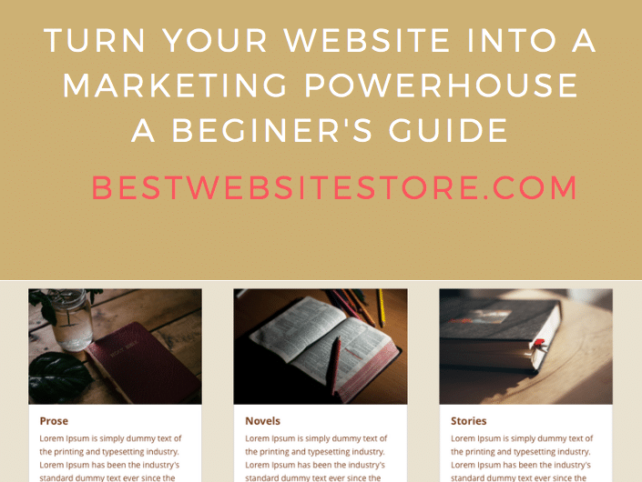 Effective websites ebook cover page